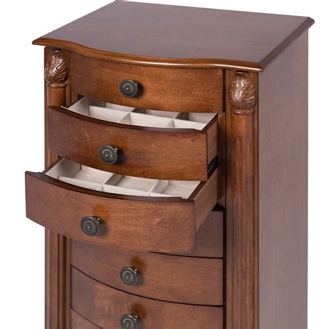 armoire jewelry chest armoire jewelry cabinet box storage chest stand organizer