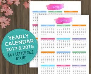 Calendar 2018 Desktop Printable Calendar 2017 2018 Desktop Calendar Wall Calendar
