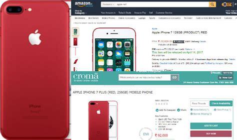 apple red iphone  iphone     pre order  amazon infibeam  croma website