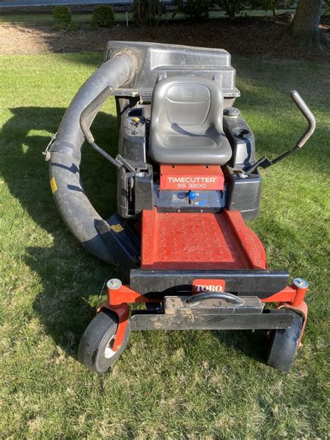 toro ss lawn mower  turn  deck  sale