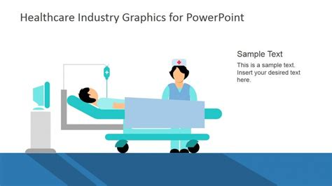 Nurse And Patient In Hospital Theme Slide Slidemodel Healthcare Powerpoint Templates Free