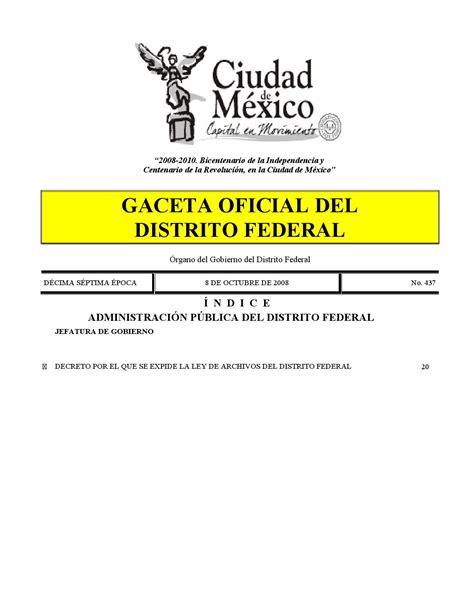 Ley De Archivos Del Distrito Federal Infodforgmx | ley de archivos del distrito federal prestamos simulador