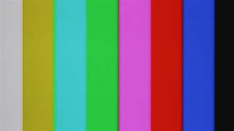 test pattern beep vhs tape color bars test pattern damage color bars test