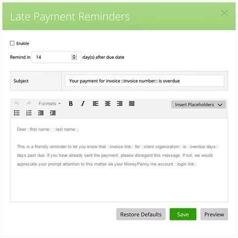 late payment invoice template 28 images late payment