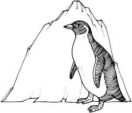 penguin coloring page free printable penguin coloring pages for