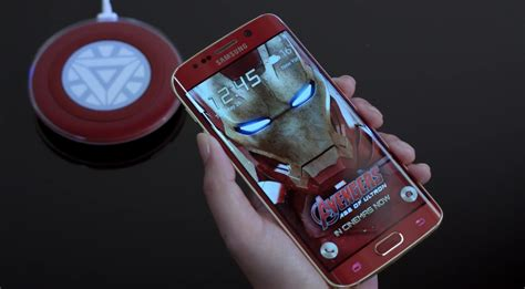 Samsung Galaxy S6 Ironman Edition samsung unveils the galaxy s6 edge iron edition with