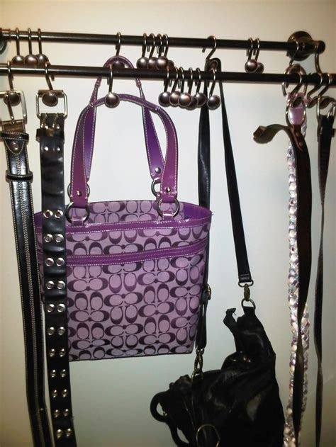 Hang Purses In Closet by 17 Best Images About Organization On Storage