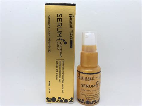 Hanasui Serum Anti Acne By Jaya Mandiri Original Bpom jual beli bpom serum whitening gold jaya mandiri by