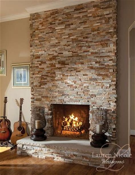 stone around fireplace 17 best images about natural stone fireplaces on pinterest