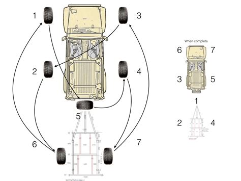 Jeep Tire Rotation Pattern For Six Tire Rotation Jeep Wrangler Forum