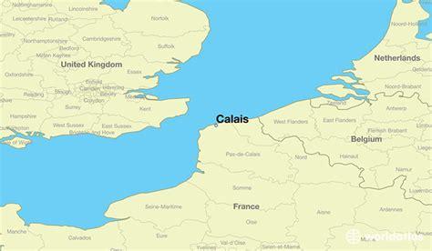 calais map where is calais where is calais located