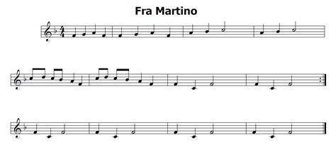 testo fra martino musica e spartiti gratis per flauto dolce fra martino il
