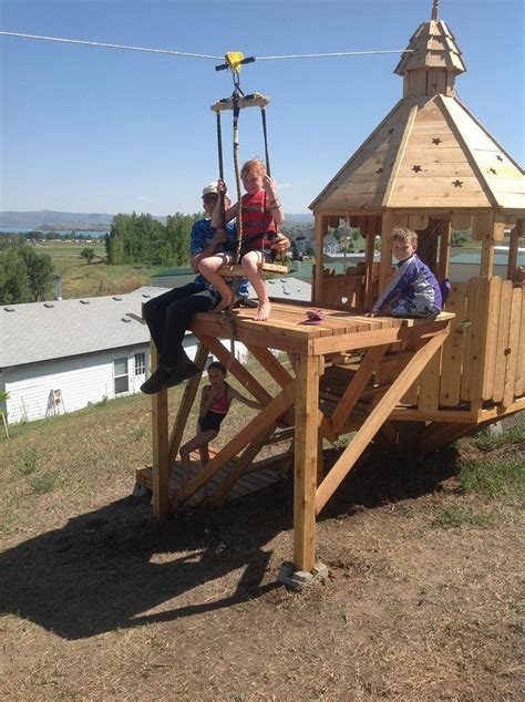 backyard zip line platform 17 best images about tree forts platforms on pinterest