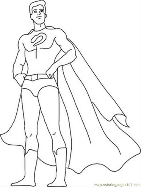 coloring page of a superhero coloring pages superheroes coloring home