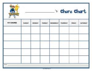 Sesame Street Wall Stickers pokemon chore chart free printable allfreeprintable com