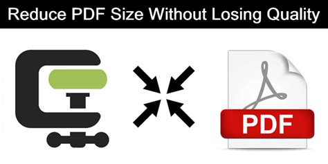 reduce size pdf ghostscript how to reduce pdf size without losing quality safe tricks