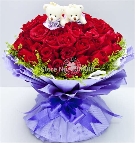 Order Roses by Aliexpress Buy 99 Roses Flower Shop Order Flowers