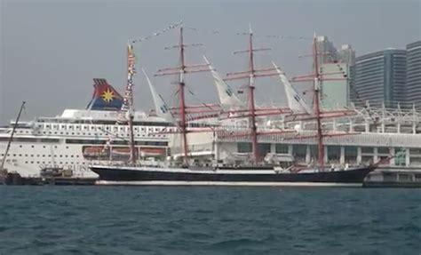 porto di hong kong sedov il veliero pi 249 grande mondo nel porto di hong