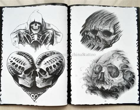 tattoo flash books 2018 new fish flash book a4 size skull flash