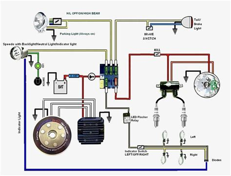 xs650 simple wiring harness wiring diagram with description
