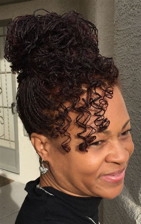 sisterlocks hairstyles for wedding 1000 ideas about black hairstyles updo on pinterest