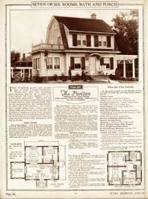 Sears Catalog Homes Floor Plans Quot The Puritan Quot Dutch Colonial Revival Sears Catalog Homes