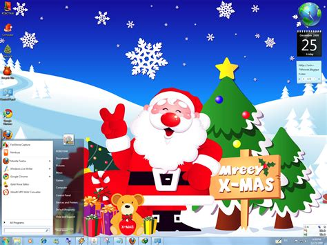 themes for windows 7 christmas blue christmas windows 7 theme by yonited on deviantart