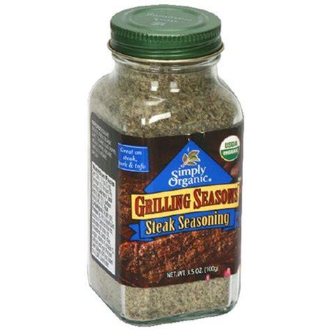 Seasoning Containers Simply Organic Organic Grilling Seasons Steak Seasoning