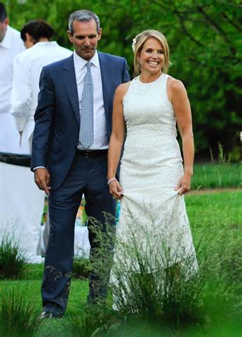 Backyard Chantilly Katie Couric Wedding
