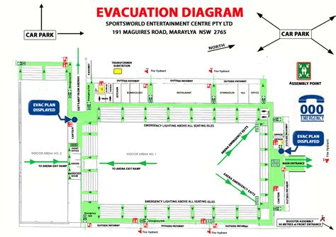 hospital evacuation plan template images diagram writing