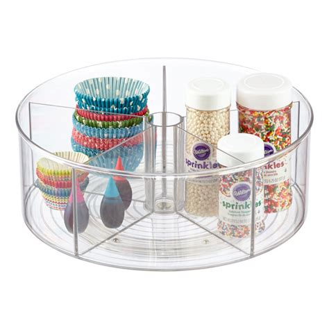 lazy susan storage containers lazy susan clear linus divided lazy susan the