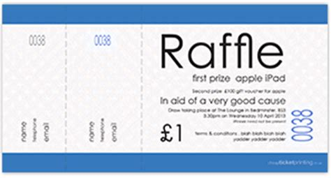 printing raffle tickets uk raffle tickets