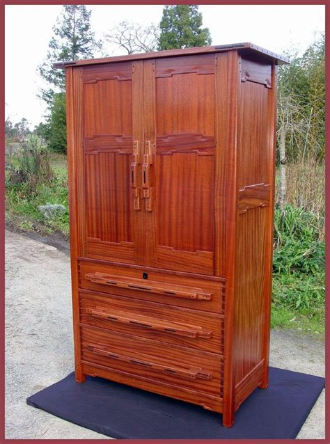 Armoire Dresser by Voorhees Craftsman Mission Oak Furniture Item
