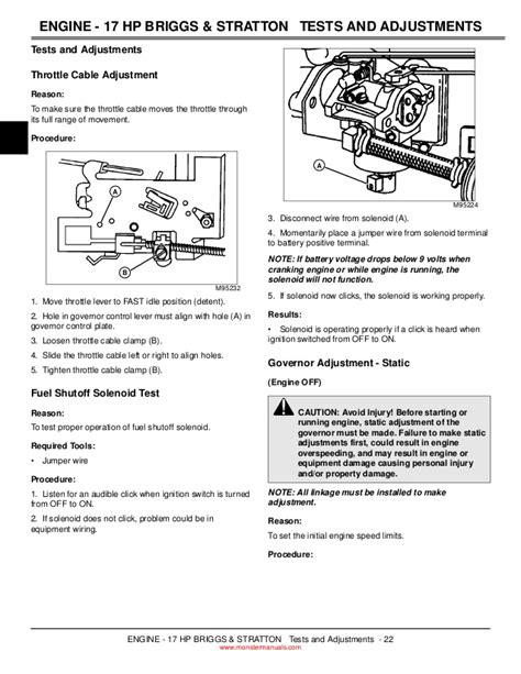 deere throttle linkage diagram wiring diagrams