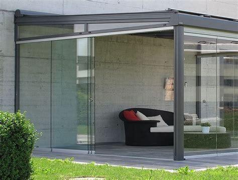 foto verande chiuse verande per terrazzi pergole e tettoie da giardino