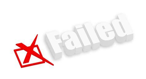 failed it how to you failed to close again rjm professional