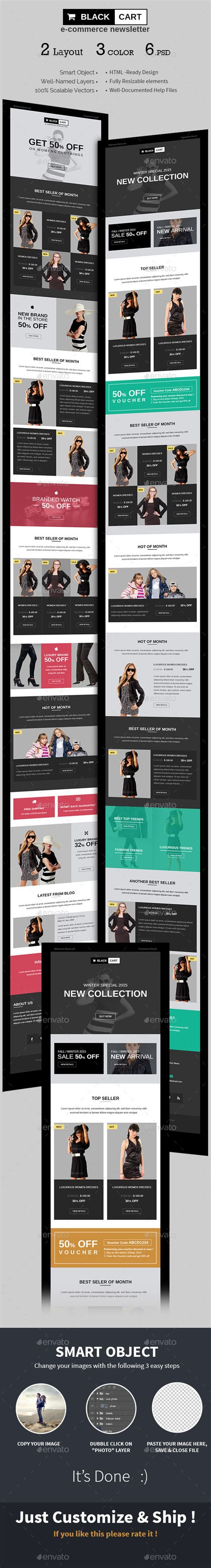 photoshop template offer e commerce special offers newsletter psd template