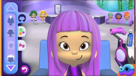 bubble guppies haircut game bubble guppies good hair day game new style for 2016 2017