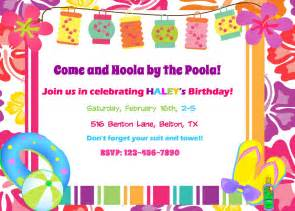 extraordinary hawaiian pool invitations 4 for newest article happy for you neabux