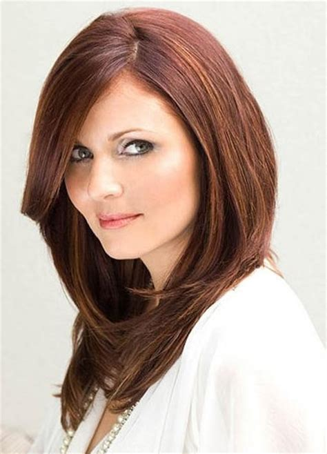 hair color for faces 50 thin hair 50 most flattering hairstyles for round faces fave
