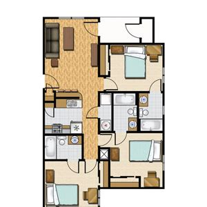 apartments floor plans 3 bedrooms three bedroom apartment planning idea home design ideas