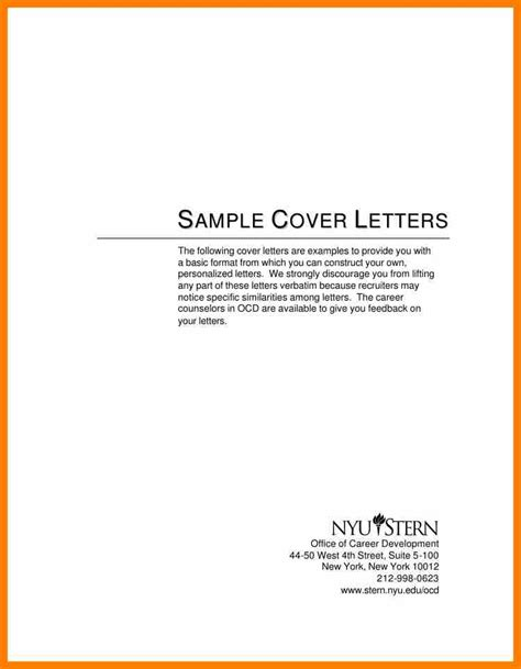 Exle Simple Cover Letter by Cover Letter Exles Easy 28 Images 11 Exle Simple Cover