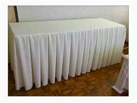 Cover Meja Rempel Pesta jual cover meja pesta rempel harga murah jakarta oleh pt