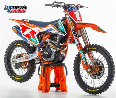 how to get into motocross racing dobson gets factory ktm call up mcnews com au
