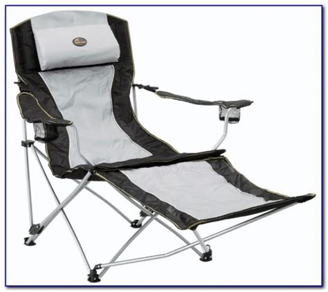 reclining cing chairs with footrest reclining desk chair with footrest chairs home design