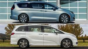 Honda Chrysler Chrysler Pacifica 2017 Vs Honda Odyssey