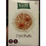 7 whole grain puffs kashi cereal 7 whole grain puffs calories nutrition