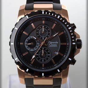Jam Tangan Pria Alfa Original 6141 Black Rosegold Fatmind Store jual jam tangan alexandre christie original pria sport termurah ac6141mc silver baru jam