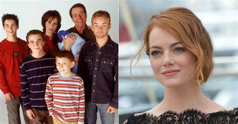 emma stone on malcolm in the middle el d 237 a en el que una desconocida emma stone particip 243 en