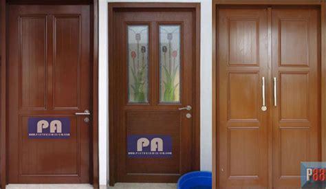 Pintu Kusen Almunium contoh kusen dan daun pintu aluminium keren desainrumahsederhana